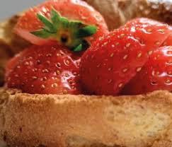 Aardbeien Hollandse, iets kleinere, doos 500 gram