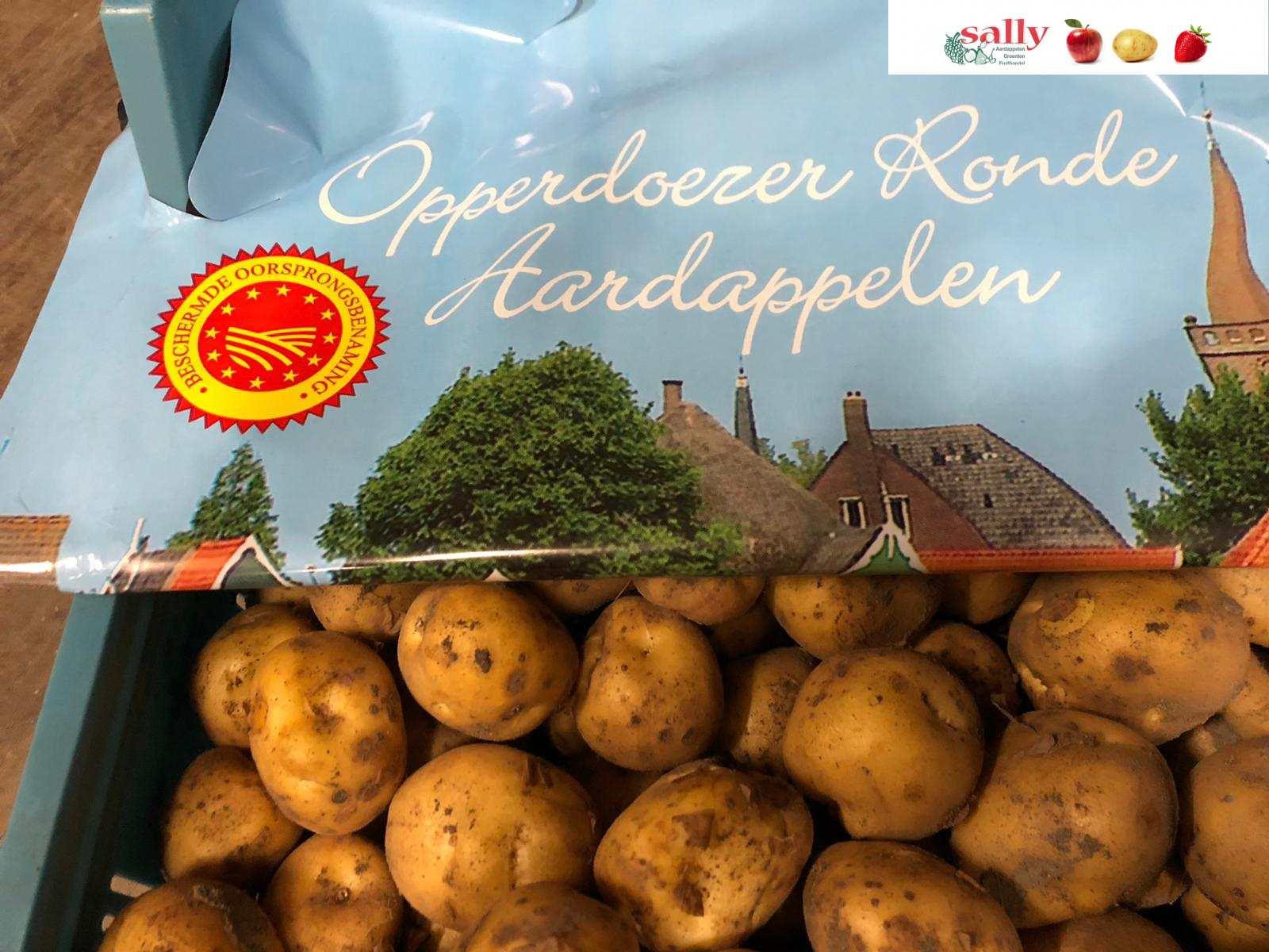 opperdoese ronde aardappelen